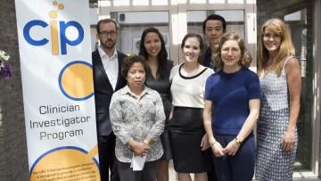 2013-2015 graduates - Drs. Mark Kearns, Tiffany Chan, Julia Hollett, James Lan and Madeleine Sharp
