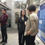 Attendees, Drs. Mylinh Thibodeau, Veronica Hirsch-Reinshagen and Mr. Ian Ruiz